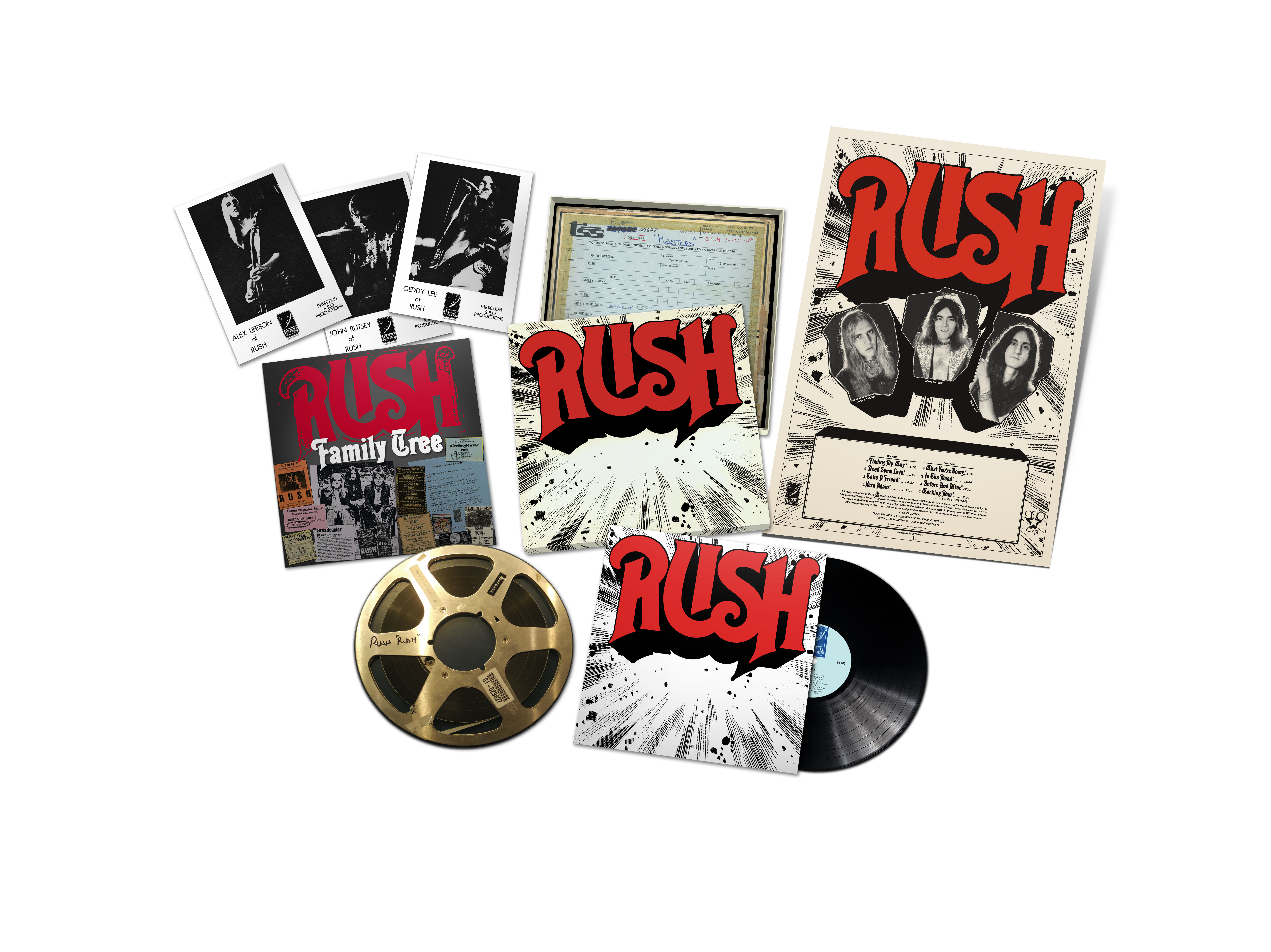 RUSH EXPLODED PACKSHOT
