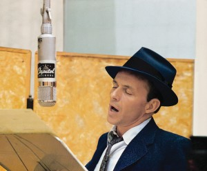 Fly Me to the Croon: Sinatra in the studio. Photo courtesy Capitol Records Archives.