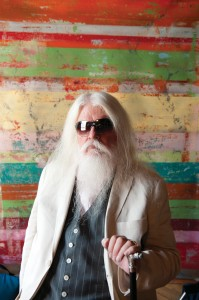 Tapestry Master: King of cool, Leon Russell. Photo by David McClister.