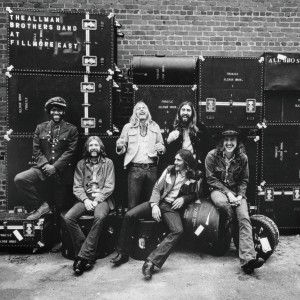 THE ALLMAN BROTHERS BAND _ AT FILLMORE EAST COVER ART
