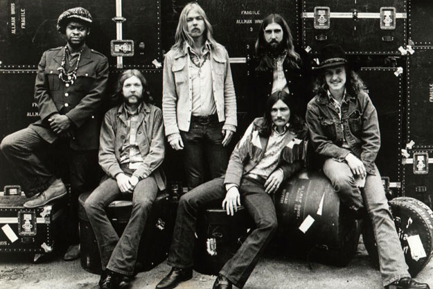THE ALLMAN BROTHERS BAND _ CAPRICORN B&W SHOT