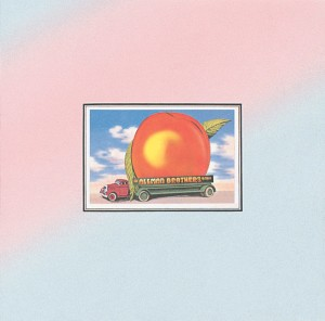 THE ALLMAN BROTHERS BAND _ EAT A PEACH _ COVER ART