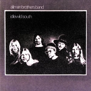 THE ALLMAN BROTHERS BAND _ IDLEWILD SOUTH _ COVER ART