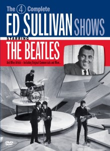 THE BEATLES _ ON ED SULLIVAN _ DVD COVER ART
