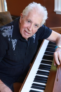 Boogie-Woogie Master: Mayall leans into the keys. Photo by Jeff Fasano.