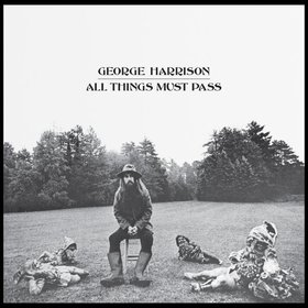 GEORGE HARRISON _ ALL THINGS MUST PASS _ COVER ART