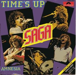 SAGA _ TIME'S UP _ 45 SLEEVE