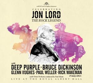 JON LORD _ CELEBRATING JON LORD THE ROCK LEGEND _ COVER ART