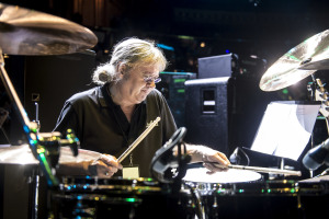 Ian sets the Paice, er, pace in Celebrating Jon Lord at The Royal Albert Hall, April 4, 2014. Photo by Neil Lupin.