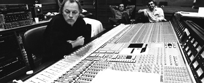 Gilmour contemplates the next big mix. Photo by Jeremy Young.