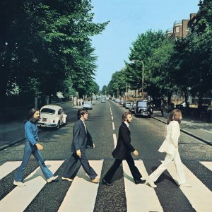 THE BEATLES _ ABBEY ROAD _ COVER ART