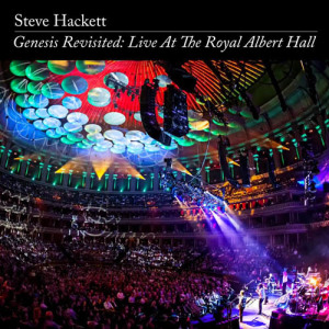 STEVE HACKETT _ LIVE AT THE ROYAL ALBERT HALL _ COVER ART