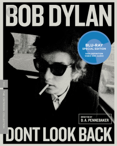 DONT LOOK BACK - BLU-RAY COVER ART