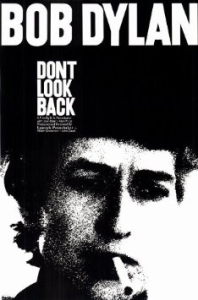 DONT LOOK BACK - MOVIE POSTER