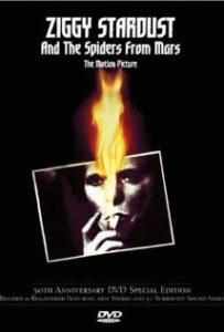 ZIGGY STARDUST AND THE SPIDERS FROM MARS - THE MOTION PICTURE _ DVD COVER