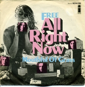FREE - ALL RIGHT NOW _ 45 SLEEVE