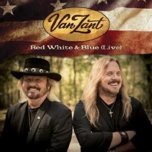 VAN ZANT - RED WHITE & BLUE _ COVER