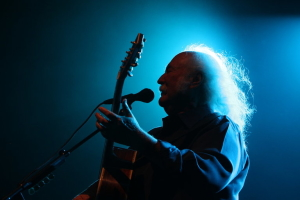 DAVID CROSBY - WITH ACOUSTIC GUITAR _ PHOTO BY DJANGO CROSBY